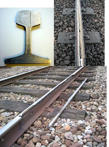 erfaring sveise jernbaneskinner